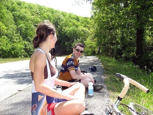 Cykla på fritiden