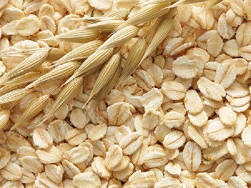 Havregryn är en naturlig exfoliant