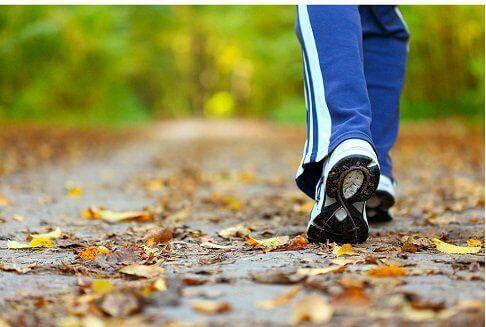 Promenad när man är ledsen