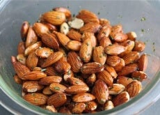 Rosmarin och rostade mandlar