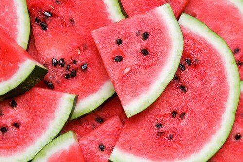 Vattenmelon rensar urinvägarna