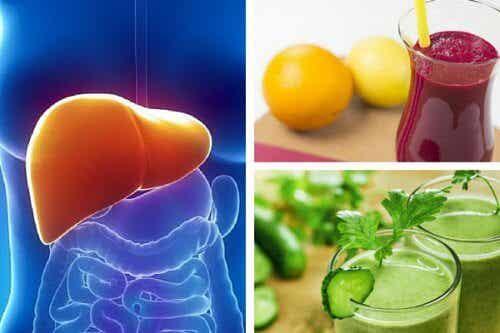 3 smoothies för att rensa och ge näring åt levern