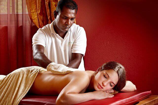 Massage gör dig lugn