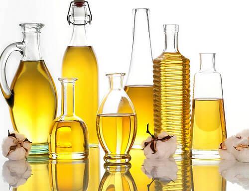 Oljor i flaskor