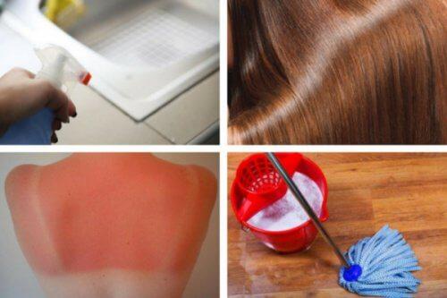 8 fantastiska användningar för vit vinäger