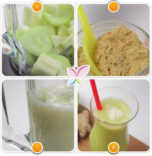 grön dryck