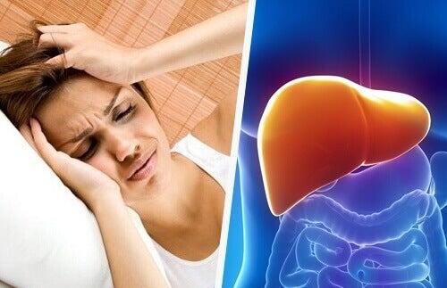 Kopplingen mellan huvudvärk och levern