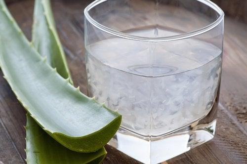 Aloejuice är bra vid förstoppning