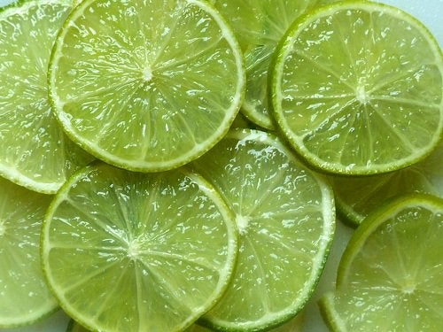 Lime i skivor
