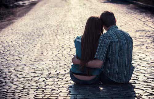 Olika typer av tillgivenhet hos ett par