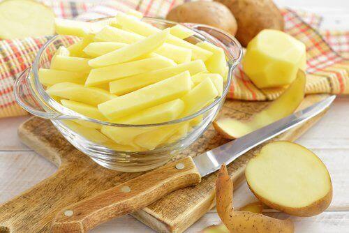 Potatis är bra för håret