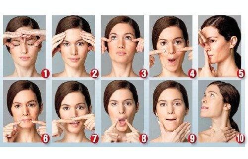 ansiktsövningar