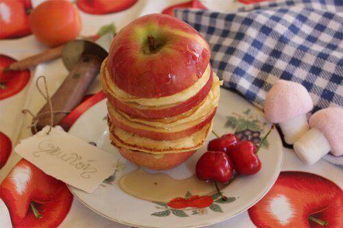 Äppelsmörgås