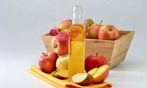 äppelcidervinäger för håret