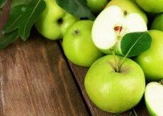 Grönt-äpple