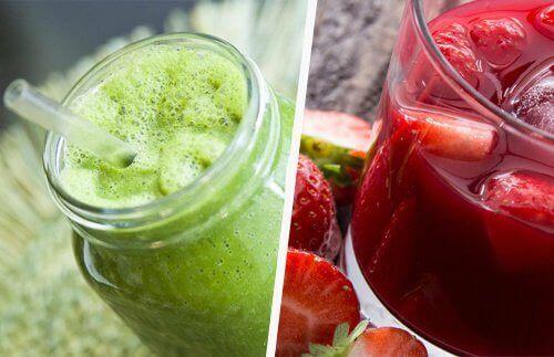 Juicer som rensar tarmen