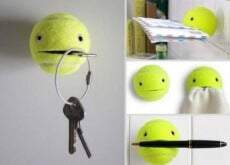 Knep med tennisboll