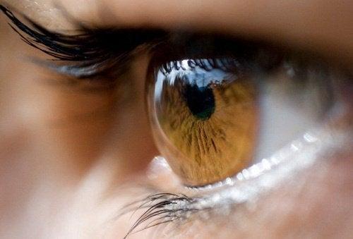 Stress kan orsaka ryckningar vid ögonen