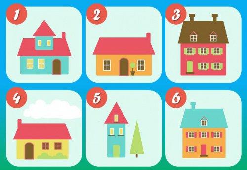 Personlighetstestet med 6 hus: vilket väljer du?