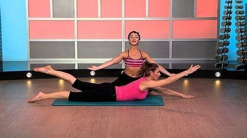 Stretch för bättre hållning