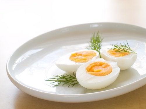 Hårdkokta ägg