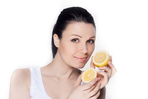 Citroner-hälsa