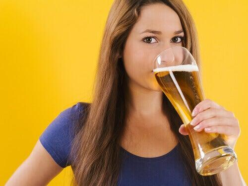 Dricka-öl