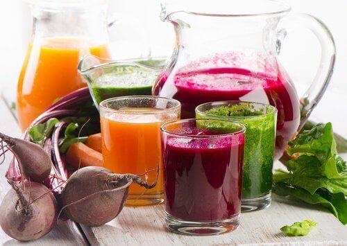 4 naturliga juicer som bleker hudfläckar