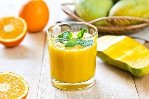 Mango-apelsinjuice