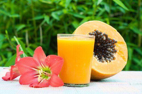 Papaya kan hjälpa dig