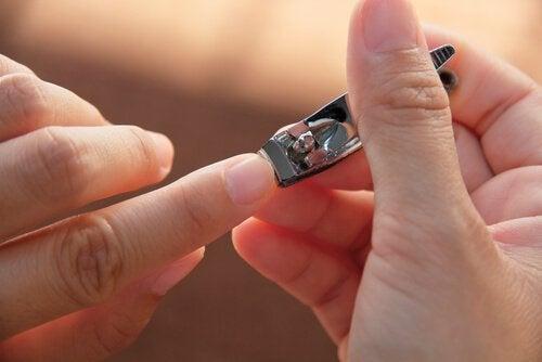 Klippa naglar
