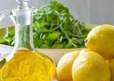 Citroner och olivolja
