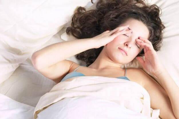 Huvudvärk kan tyda på ångest