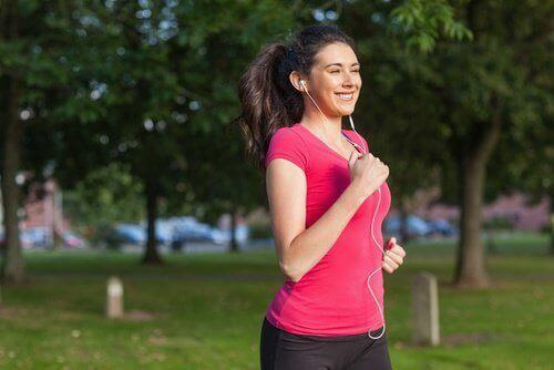 Löpning är en bra morgonrutin