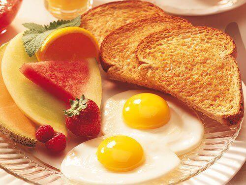 Nyttig och utsökt frukost