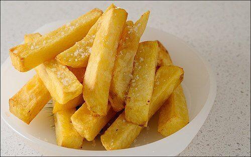 Pommes frites rekommenderas ej