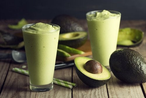 Smoothie med avokado