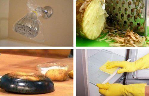 10 tips på hur du rengör hemmet naturligt