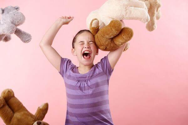 Vredesutbrott hos barn