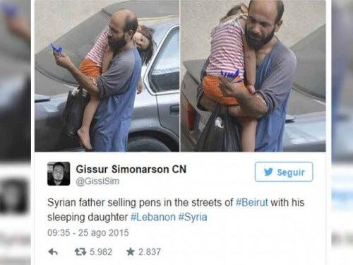 Abdul och hans dotter