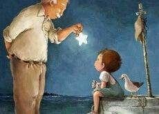 Morfar och barnbarn
