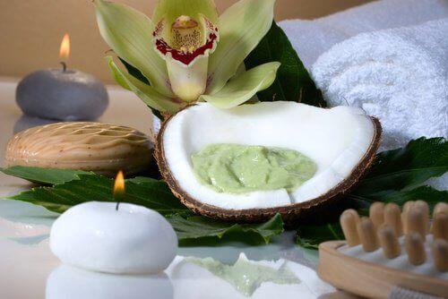Avokado-och-kokos