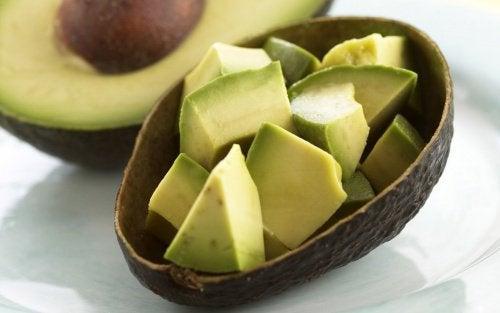 Avokado är gott i matlagning