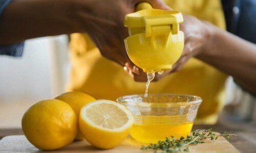 Citron för avgiftning