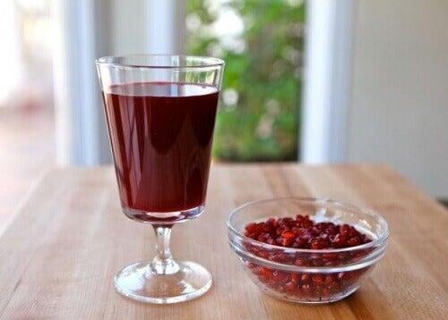 Granatäppeljuice