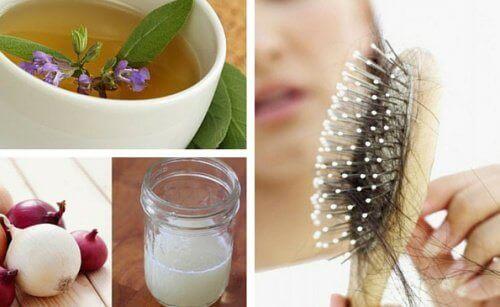 5 utmärkta och naturliga huskurer mot håravfall
