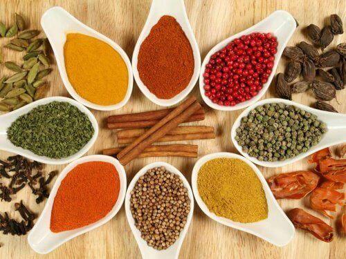 Kryddor kan orsaka inflammation när de inte äts på rätt sätt