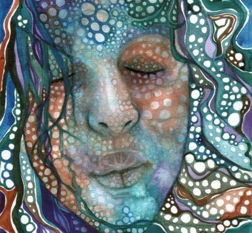Kvinnas-ansikte