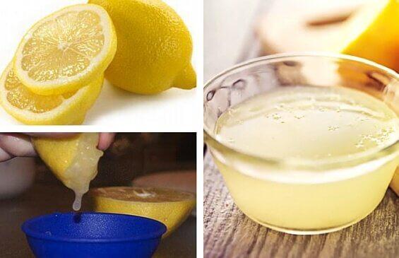 Att dricka citronvatten är bra för hälsan