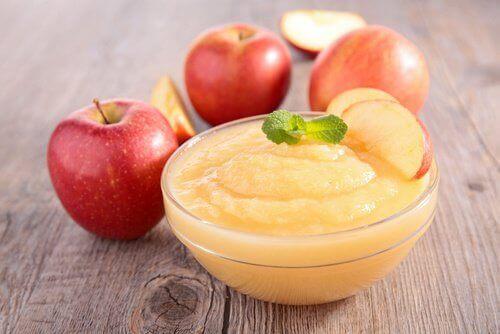 Äppelmos; vad är de olika fördelarna?